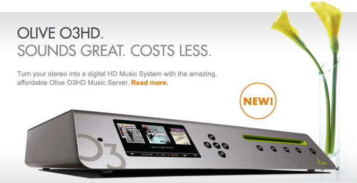Lots More info on Olive Music Servers